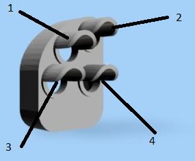 Numrering ljusöppningar